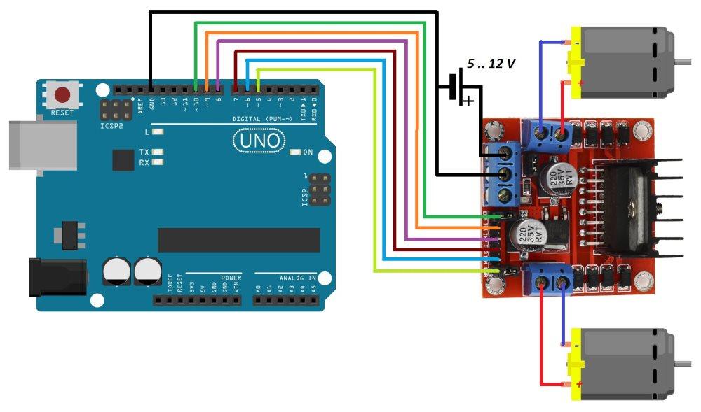 Arduino Dc Motor Coeleveld Com