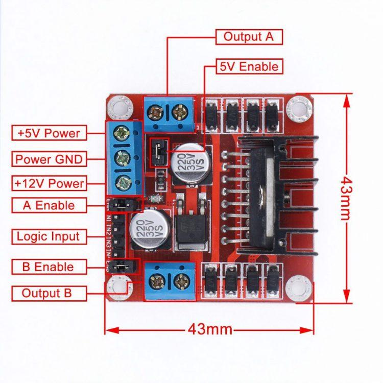 Tutorial Arduino mengakses driver motor L298N