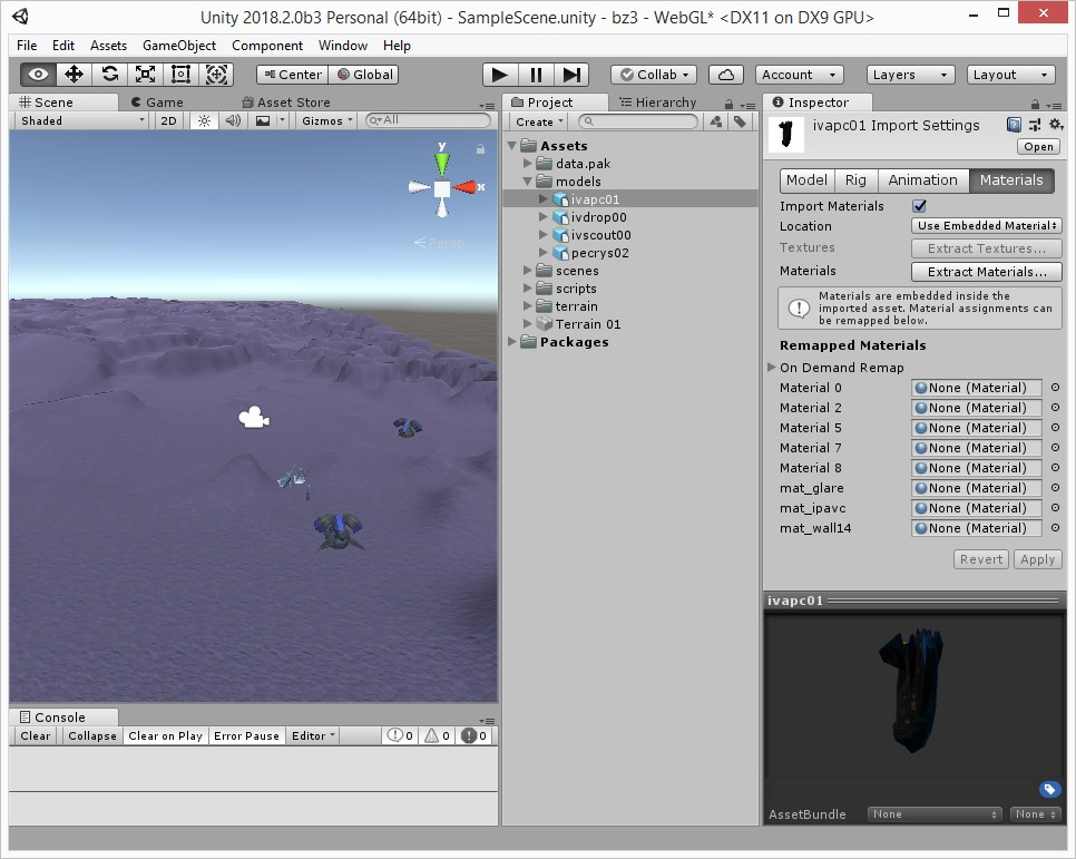 Blender textures and materials + FBX export for Unity